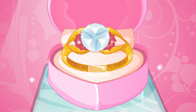 Barbie Engagement Ring for Girls
