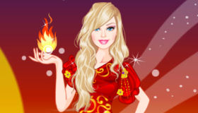 Barbie Fire Princess