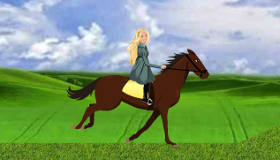 Barbie Horse Riding Style