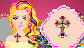 Barbie Tattoo Design