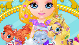 Disney Palace Pets Baby Barbie