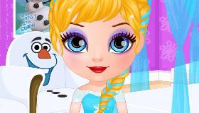 Frozen Hairstyles Baby Barbie