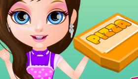 Pizza Chef Baby Barbie