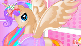 Pony Princess Birthday Dress Up