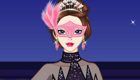 Ice Skater Masquerade Dress Up