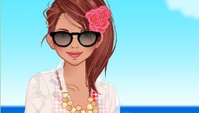 Beach Bikinis Dress Up