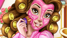 Princess Belle Real Makeover