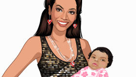 Dress Up Beyonce and Her Baby