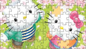 Hello Kitty True Love Puzzle