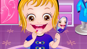 Dress Up Baby Hazel Game
