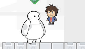 Baymax and Hiro Adventure