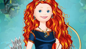 Dress Up Disney Princess Merida