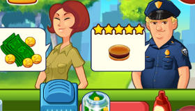 Burger Restaurant Manager iPad