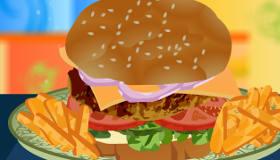 Big Burgers Cooking