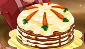 Carrot Cake Baking