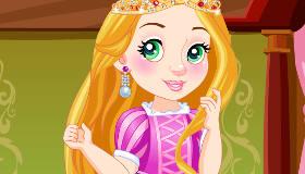 Chibi Princess Rapunzel