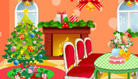 christmas living room decor fun christmas dress up game - Christmas Decoration Games
