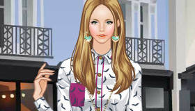 City Shine Barbie Dress Up