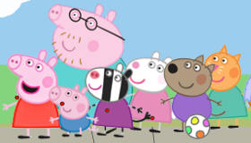 Play Peppa Pig Basketball
