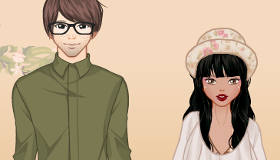 Trendy Couple Dress Up
