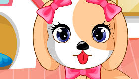 Puppy Care Game for Girls