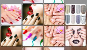 Manicure girls' game