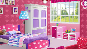 Decorate Barbie's Room