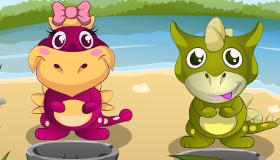 Baby Dinosaur Game