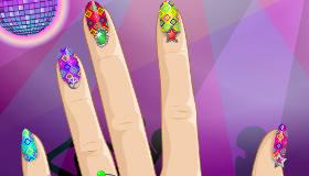 Disco Nails Manicure