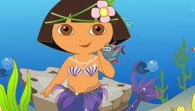 Dora Mermaid Dress Up