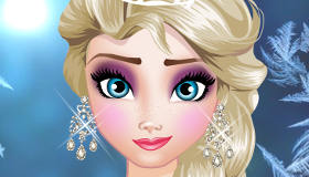 Elsa's Make Up Class