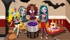 Monster High Haunted Mansion Scene Maker