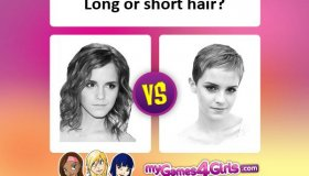 Hair: Which style is best, long or short?