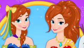 Frozen Princess Anna Dress Up