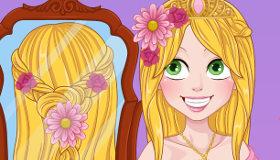 Rapunzel Wedding Braids
