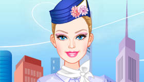 Stewardess Barbie