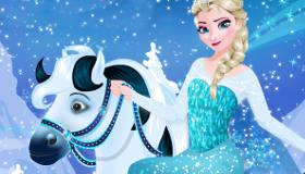 Elsa Horse Rider