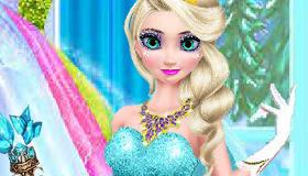 Makeover Queen Elsa