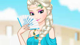 Elsa Round the World Dress Up