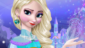 Dress Up Queen Elsa Frozen