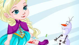 Elsa Skating Injury