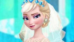 Elsa's Frozen Wedding Party