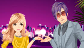 Couple Dress Up Game