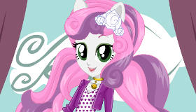Dress Up Sweetie Belle Equestria Girls