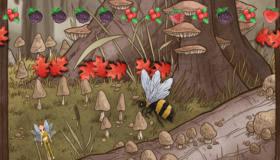 Fairy in The Garden