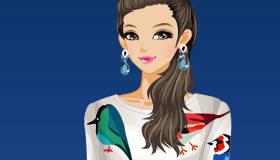 Barbie Fashionista 2015 Dress Up