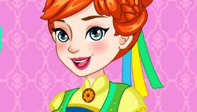 Anna's Cake Frozen Fever