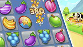 Fruit Candy Crush Game