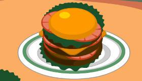 Juicy Burgers Cooking