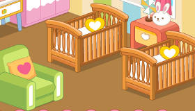 Twin Baby Room Design